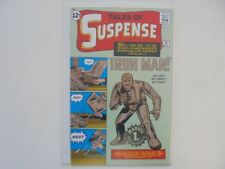 Valle of suspense IRON MAN ORO-Stamp German Variant reprint z.0-1