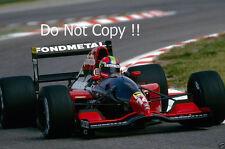 Eric Van De Poele Fondmetal GR02 Belgian Grand Prix 1992 Photograph