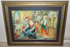 "Sevitt Francis Shadows of Love framed serigraph signed numbered print 38"" x 26"""