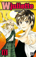 manga W Juliette tome 11 Shojo EMURA PIKA EPUISE Rare VF WJuliette Juliet Romeo