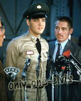ELVIS PRESLEY in the Army 1958 8x10 Photo Premiere New York Press Conference