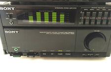 AMPLIFICATEUR PRE-AMPLI EGALISEUR VINTAGE SONY TA-707M AUDIO SYSTEME MHC-2000