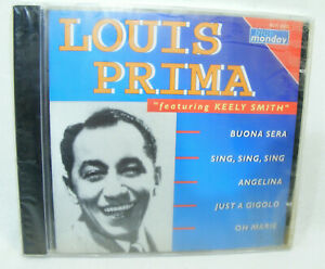 LOUIS PRIMA Featuring Keely SMITH 1993 NEUF sous BLISTER CD Blue Monday