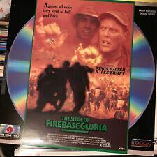 "The Siege Of Firebase Gloria - 12""  Laserdisc Buy 6 for free shipping"