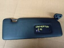 BMW E46 CONVERTABLE 01-05 SUNVISOR BLACK LEATHER RIGHT DRIVER SIDE 325-330 ci