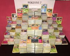 Lot 100 Cartes Pokemon Francaises 100% Pas de double NEUF + Brillante + Rare