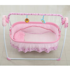 Electric Auto-Swing Baby Cradle Portable Crib Bed Infant Rocker Cot 3 Color