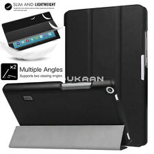 """Slim For Amazon Kindle Fire HD 8"""" Smart Magnetic Open Leather Stand Case Cover"""
