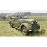 ACE 72501 - 1/72 – British Staff Car Tourer 8HP plastic model building kit