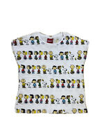 Peanuts Charlie brown T - Shirt Size 12 Kids Unisex Short Sleeves