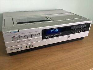 Sanyo VTC-5000 Betamax Video Recorder - Excellent Condition - Fully Refurbished
