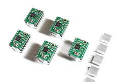 5x A4988 Controlador de motor paso a paso+Disipador de calor para RAMPS 1.4