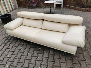 Designklassiker Sofa WK Intempo ähnlich Maralunga Leder NP 5800.-
