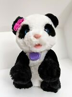 FurReal Friends Pets Pom Pom My Baby Panda Black White 2013 Battery Operated