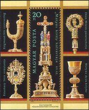 UNGHERIA 1987 VI SOGGIORNO' / Cattedrale del TESORO/RELIGIOSO ARTE/Oro CROSS 1 V M/S hx1026