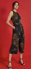 New NEXT paisley design Tie Waist Jumpsuit Cropped £56! Size 14