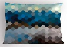 Abstract Modern Pillow Sham Decorative Pillowcase 3 Sizes Bedroom Decoration