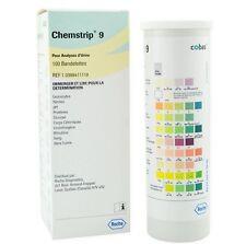Chemstrip 9 Urine Test Strip 100ct
