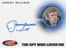 James Bond 2014 Archives Autograph A251 Jeremy Bulloch