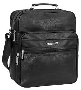 Bag Street Herrentasche Arbeitstasche Flugbegleiter Tasche T0112 Schwarz