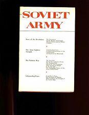 THE SOVIET ARMY ( V Talmy) general history Soviet Army  HB/dj VG 1st