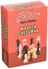Staroyun 1050217 13 x 21 x 7 cm Wooden Chessman No 4 Chess Set