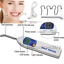 2018 US SALE Oral Teeth Nerve Vitality EndodonticNEW Dental Pulp Tester Testing