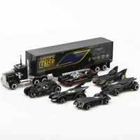 Set of 7 Batman Batmobile Car Model Toy Vehicle Alloy Collection Christmas Gift