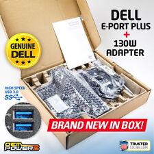 NEW Dell Latitude Docking Station E-Port Plus II E5440 E5540 E6430 E6440 E6540