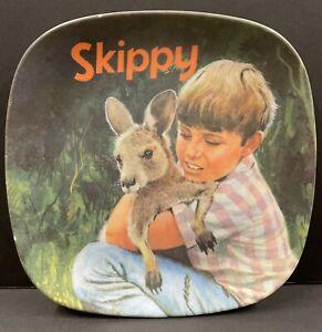 Vintage Australia Skippy Plate Bessemer Nylex Corporation Melmac 19.5cm (4)