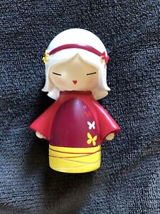 Rare 2010 Momiji PEACE Hidden Secret Message Doll Preowned