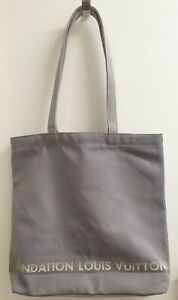 Louis Vuitton Foundation Museum limited Foundation LV Tote BAG/Grey Gray/
