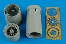AIRES 4553 Exhaust Nozzles (Opened) for Kinetic Kit Mirage 2000C/B/D/N in 1:48