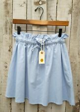 Nil. Tie Waist Blue Cotton Skirt Size: S / Was Selling At Anthropologie
