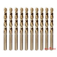 """10PCS 1/16"""" M35 HSS Cobalt Jobber Length Twist Spiral Drill Bit 135 Split Point"""
