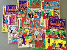 8 Archie Comics Bronze Age PALS N GALS Betty Veronica JUGHEAD (Lot A9)