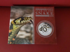 2013 Australian Lunar Year of the Snake 0.5oz Coloured Proof Coin Boxed with COA