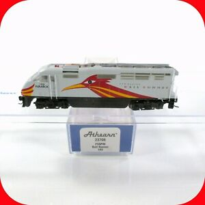 N Scale New Mexico Rail Runner Bombardier F59PHI Locomotive #103 ATHEARN DCC Rdy