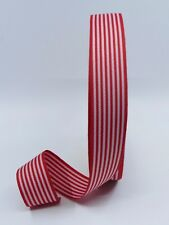 25mm Line Strip Grosgrain Red Ribbon Cloth Tape DIY Hair Accessory Craft