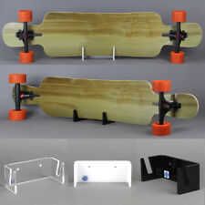 Longboard-Halter aus Acrylglas, Scateboard-Halterung, transparent