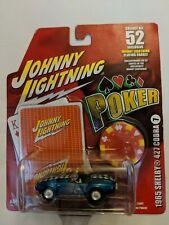 Johnny Lightning Poker 1965 Shelby 427 Cobra #7 (K)