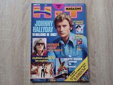 Revue HIT MAGAZINE No 67 Aout 1977 + Poster Rainbow  + Supp Attentat Cloclo RARE
