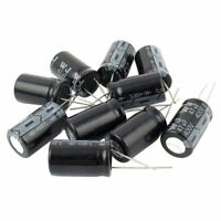 10 Pcs 400V 47uF 105C Radial Lead Electrolytic Capacitor 16mm x 25mm J7S9