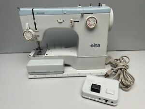 Elna Elnasuper Type 62C Sewing Machine with Foot Controller + Accessories