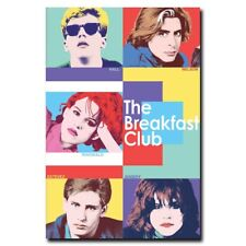The Breakfast Club 12x18inch Classic Movie Silk Poster Cool Gift Room Door Decal