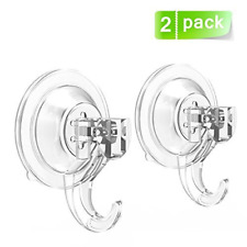 Suction Cup Hooks Quntis Powerful SuperLock Shower Suction Cups 2 Pack Heavy for