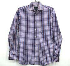Hugo Boss Men's Slim Fit Button Up Dress Shirt Medium 15.5 39 Pink Casual Top