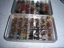 Perrine #97 Fly Fishing Fly Box w 90+ Flies