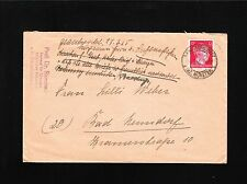 Germany Last Days Third Reich Freckenhurst March 1945 Cover Two Long Letters 2z