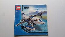 LEGO CITY!!! Istruzioni solo!!! PER 7723 Police IDROVOLANTE
